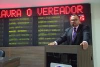 Rondinelli Carlos destaca obras de saneamento na cidade