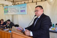 Rondinelli Carlos destaca trabalho desenvolvido na Escola Municipal Monsenhor Mota