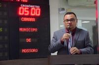 Rondinelli Carlos lamenta corte de recursos para Polícia Civil