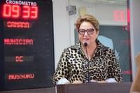 Sandra defende audiência pública para debater situação do Caic