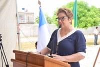 Sandra Rosado destaca emenda para reforma de quadra de esportes