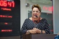 Sandra Rosado elogia adiamento de imposto municipal