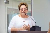 Sandra Rosado explica veto a Projeto de Lei sobre ensino da Lei Maria da Penha