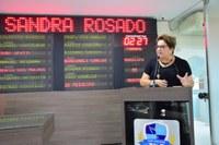 Sandra Rosado pede atenção à Faculdade de Medicina da Uern