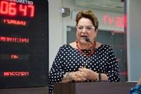 Sandra Rosado pede reforço de ações contra coronavírus