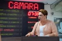 Sandra Rosado reitera defesa do protagonismo da mulher