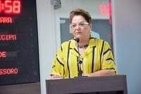 Sandra se solidariza com ex-funcionários da Porcelanati