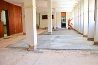 Sede da Câmara passa por obras para ficar mais acessível