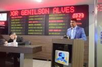 Vereador Genilson Alves se afasta de liderança da oposição