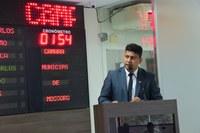 Vereador Genilson Alves pede cautela na análise da Lei de Diretrizes Orçamentárias