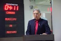 Vereador Gilberto Diógenes critica vetos a projetos sociais