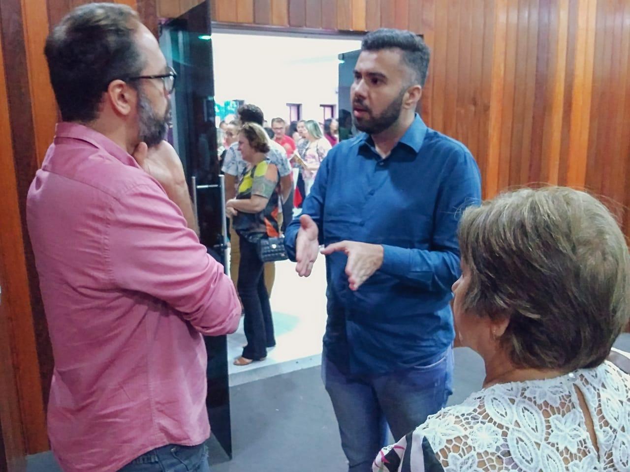 Vereador Petras representa CMM em evento contra drogas