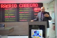 Vereador Raério diz que comprova crítica e aponta solução