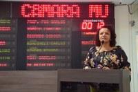 Vereadora Aline cobra ações dos governos municipal e estadual