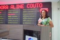 Vereadora Aline Couto comunica obra em escola interditada