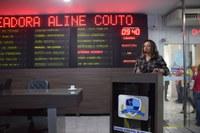Vereadora Aline Couto fala de dificuldades de acesso às secretarias
