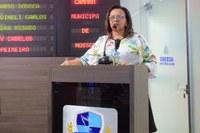 Vereadora Aline Couto relata problemas de infraestrutura no bairro Santo Antônio