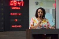 Vereadora Aline leva projeto Mão Amiga aos bairros da zona norte