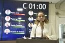 Vereadora Larissa lembra o dia da conquista do voto feminino no Brasil