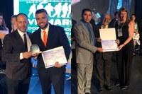 Vereadores de Mossoró são premiados em Brasília