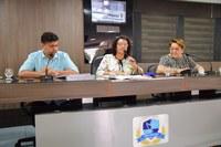Vereadores realizam reunião da CCJR