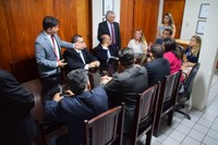Vereadores recebem visita de candidatos à OAB Mossoró