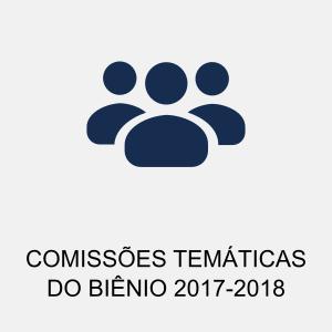 COMISSÕES TEMÁTICAS 2017-2018